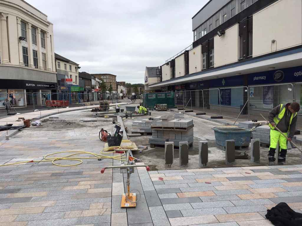 Burnley Town Centre - BD Contracts